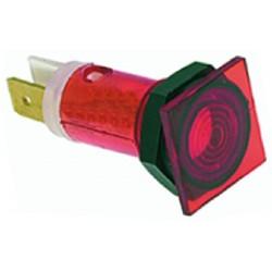LAMPADA SPIA ROSSA 220V CODICE: 3221009