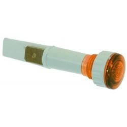 LAMPADA SPIA ARANCIO 230V CODICE: 3221011 5 pezzi