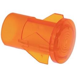PORTALAMPADA ARANCIO CODICE: 3221020 2 pezzi