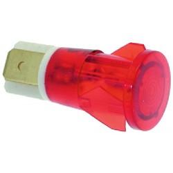 LAMPADA SPIA ROSSA 230V CODICE: 3221024 5 pezzi