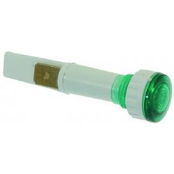 LAMPADA SPIA VERDE 230V CODICE: 3221032