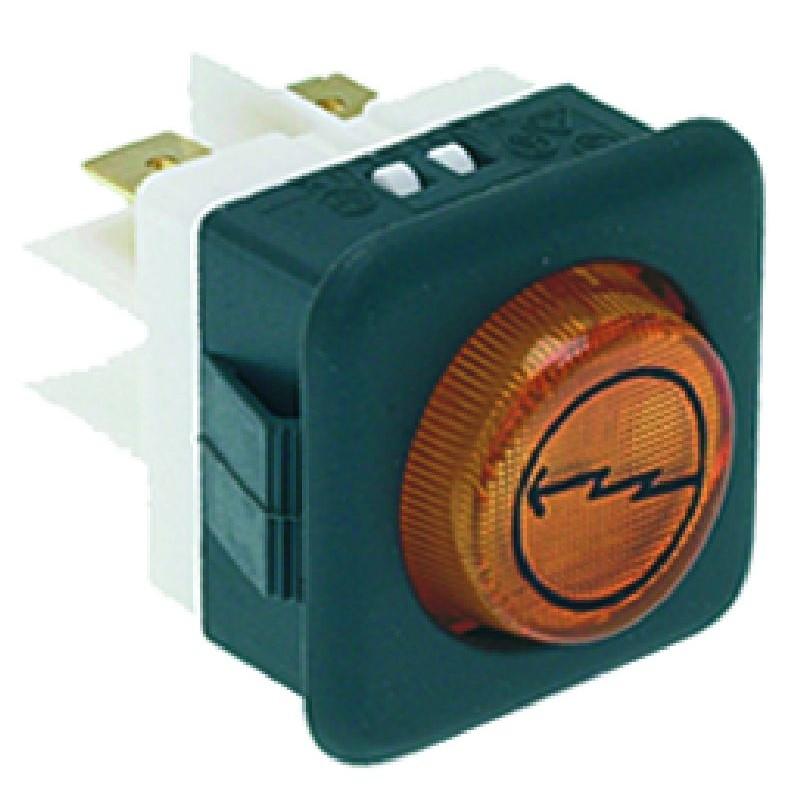 LAMPADA MACCHINA ACCESA 220/250V CODICE: 3221036