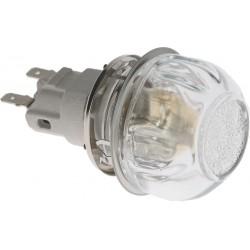 PORTALAMPADA CON LAMPADA E14 15W 230V CODICE: 3221040