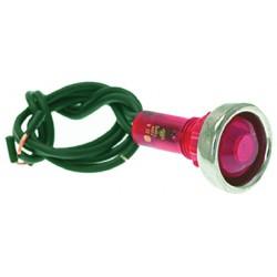 LAMPADA SPIA ROSSA CODICE: 3221044
