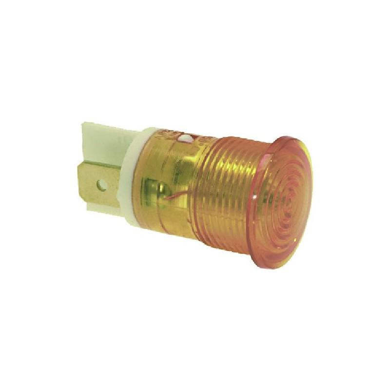 LAMPADA SPIA ARANCIO 230V CODICE: 3221078