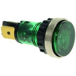 LAMPADA SPIA VERDE 230V CODICE: 3221085