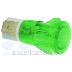 LAMPADA SPIA VERDE 230V CODICE: 3221101