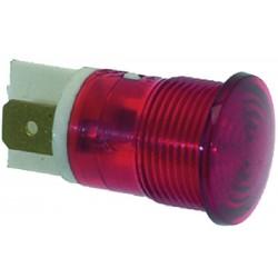 LAMPADA SPIA ROSSA 230V CODICE: 3221210