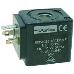 BOBINA PARKER XS 110/115/120V 50/60HZ 9W 1120581