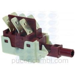 PULSANTE DOPPIO CONTATTO 16(6)A 250V 3319628