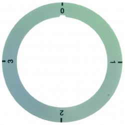 DISCO AUTOADESIVO 0-1-2-3 CODICE: 3241214