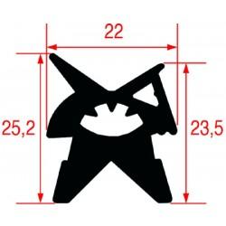 GUARNIZIONE PORTA FORNO 460X450 MM 3186361