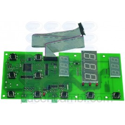 SCHEDA ELETTRONICA CONTROLLO 210X93 MM 3390123