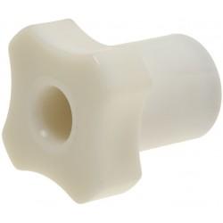 POMELLO CORTO BIANCO 30 mm CODICE: 3909002