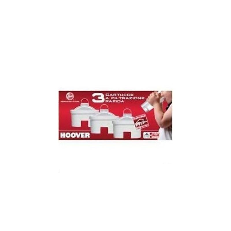 HOOVER KIT 3 FILTRI CARTUCCE CARAFFE FILTRANTI HOO 3 PZ ORIGINALI 35601028