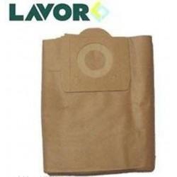 LAVORWASH LAVOR SET 5 FILTRI RACCOGLITORI CARTA PER 30 LT ASPIRATORE 5.212.0049