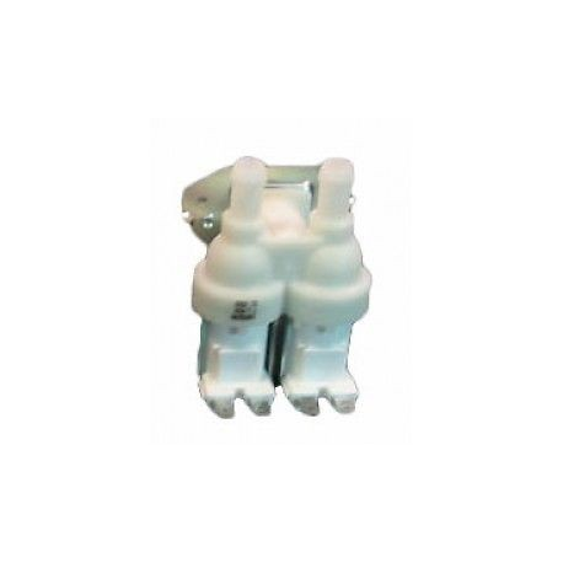 ELETTROVALVOLA LAVATRICE DOPPIA 90° 12MM ELECTROLUX REX AEG ORIGINALE 4055030714