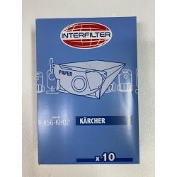 SACCHETTI ASPIRAPOLVERE KH02 INTERFILTER 35601521